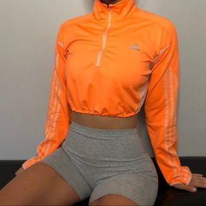 Adidas Cropped Long Sleeve Shirt
